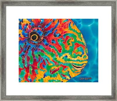 Parrotfish Framed Print