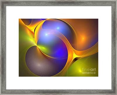 Parsec Framed Print