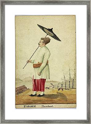 Parsee Framed Print by British Library