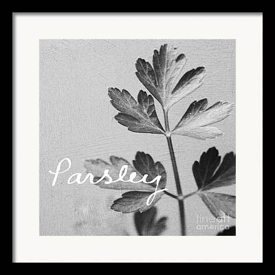 Parsley Framed Prints
