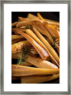 Parsnips Framed Print by Aberration Films Ltd