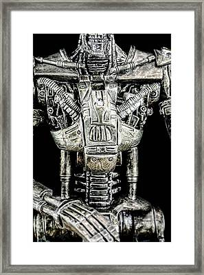 Part Of A The Terminator  Framed Print by Tommytechno Sweden