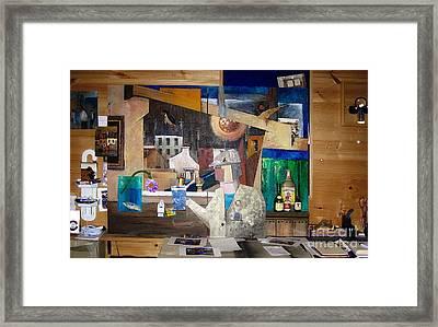Part Of My Studio Framed Print