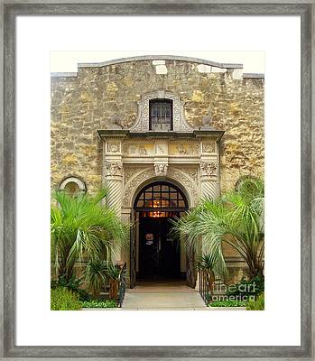 Part Of The Alamo Framed Print