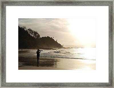 Framed Print featuring the photograph Part Of The Landscape by Ankya Klay