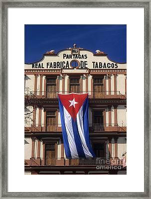 Partagas Cigar Factory Framed Print