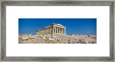 Parthenon Athens Greece Framed Print by Panoramic Images