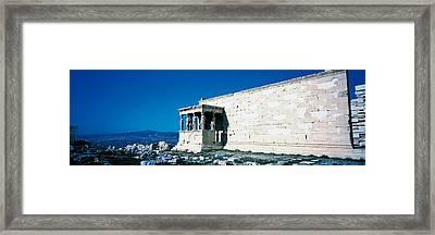 Parthenon Complex Athens Greece Framed Print