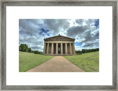 Parthenon Framed Print by Honour Hall