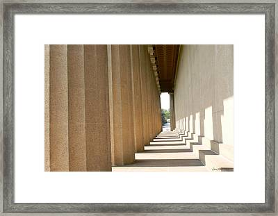 Parthenon1 Nashville Tn Framed Print by EricaMaxine  Price