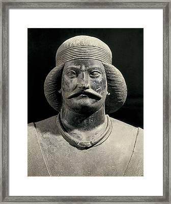 Parthian Warrior From Shami. 1st C Framed Print by Everett