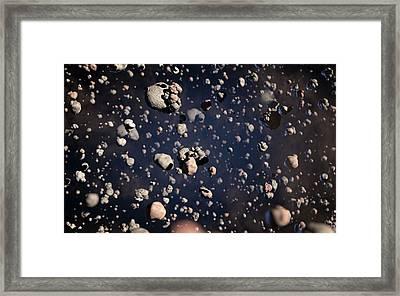Particles Surrounding A Brown Dwarf Framed Print by Alma (eso/naoj/nrao)/l. Calcada (eso)