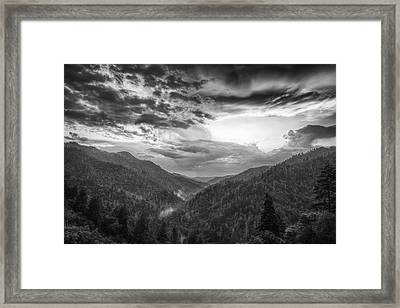 Parting Clouds Framed Print by Andrew Soundarajan