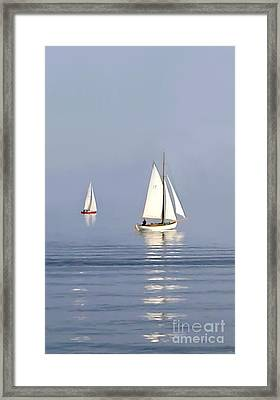 Parting Fog Framed Print by Paul Tagliamonte