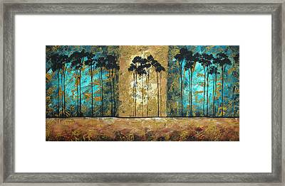 Parting Of Ways By Madart Framed Print by Megan Duncanson