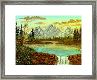Parting Waters Framed Print by David Bentley