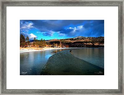 Partingice 02-19-2014 Framed Print