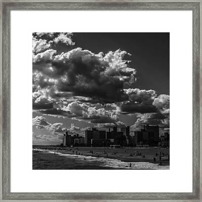 Partly Cloudy Framed Print by Edward Khutoretskiy