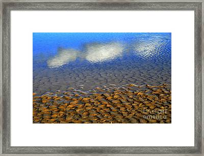 Partly Cloudy Framed Print