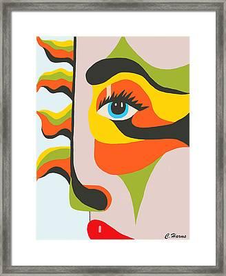 Partly Sunny II Framed Print