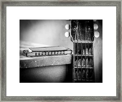 Partners In The Blues Framed Print by EG Kight