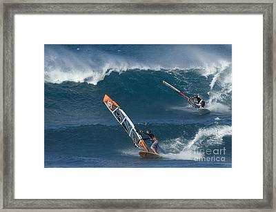 Partners In The Extreme Framed Print by Bob Christopher