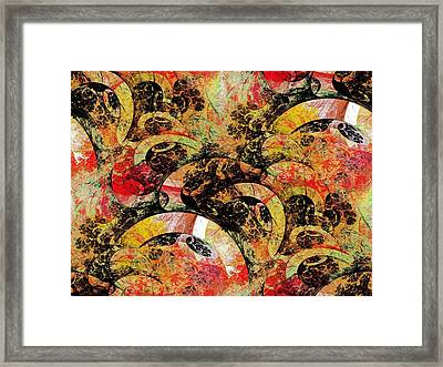 Party Framed Print by Anastasiya Malakhova