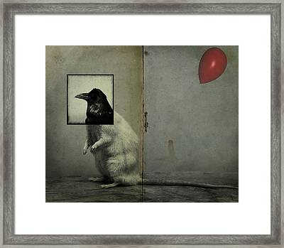 Party Animal  Framed Print by Empty Wall