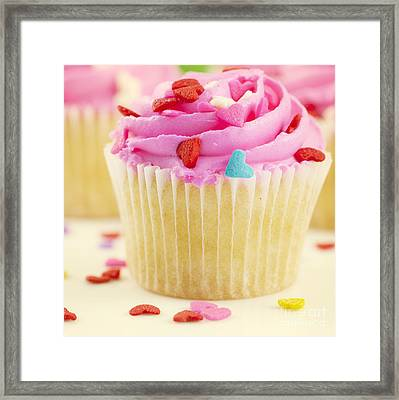 Party Cake Framed Print