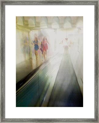 Party Girls Framed Print by Alex Lapidus