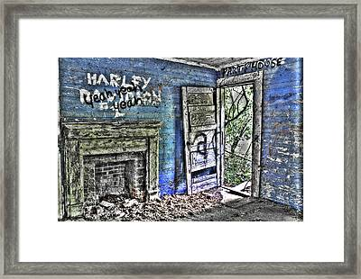 Party House Framed Print