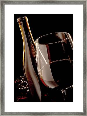Party Of One Framed Print