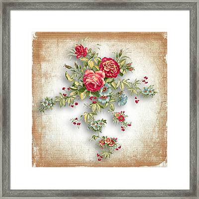 Party Of Roses  Framed Print