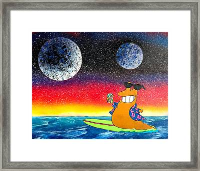 Party On Slurms Framed Print by Drew Goehring