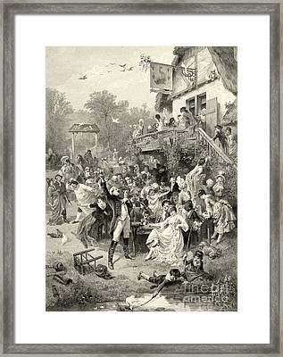 Party Time 1878 Framed Print