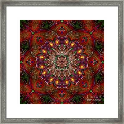 Framed Print featuring the digital art Party Time 3 D Art by Hanza Turgul