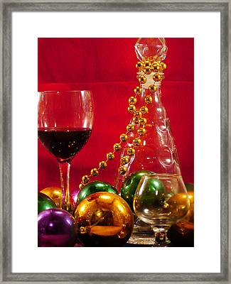 Party Time Framed Print by Anthony Walker Sr