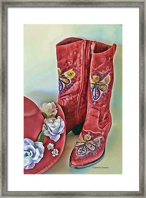 Framed Print featuring the photograph Party Time by Kenny Francis
