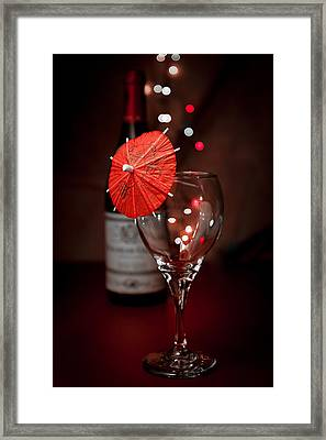 Party Time Still Life Framed Print