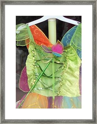 Party Time Window Framed Print