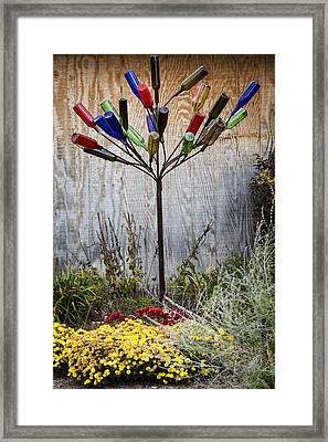 Party Tree Framed Print by Alexey Stiop