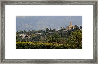Pasadena Framed Print by Jan Cipolla