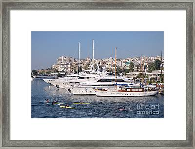 Pasalimani Port Framed Print