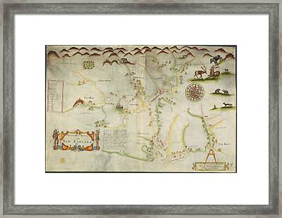 Pascatway River Framed Print by British Library