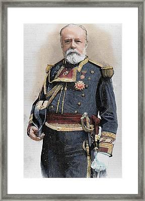 Pascual Cervera (1839-1909 Framed Print by Prisma Archivo