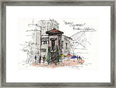 Framed Print featuring the mixed media Paseo Colorado by Tim Oliver