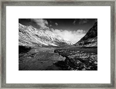 Pass Of Glencoe Framed Print