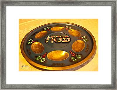 Pass-over Plate1 Framed Print