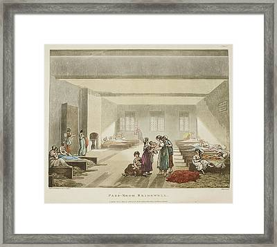 Pass-room Bridewell Framed Print by British Library