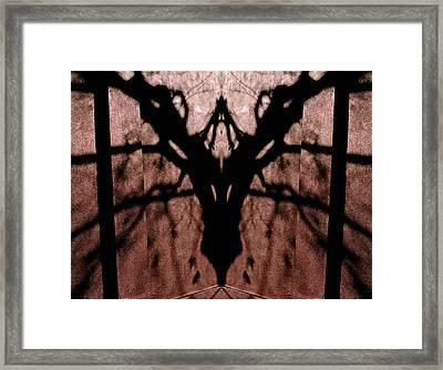 Pass Through Domesticated Shadows 2013 Framed Print by James Warren
